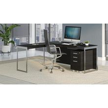 View Product - Sequel 20 6107 Mobile File Cabinet in Charcoal Stained Ash