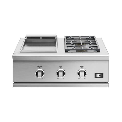"30"" Griddle/side Burner, Lp Gas"