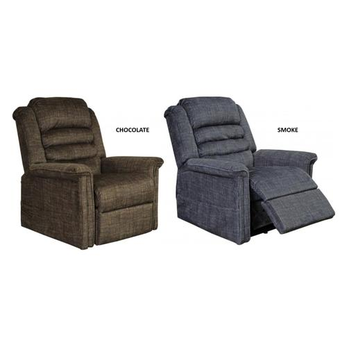 4825 Soother Lift Recliner - Smoke