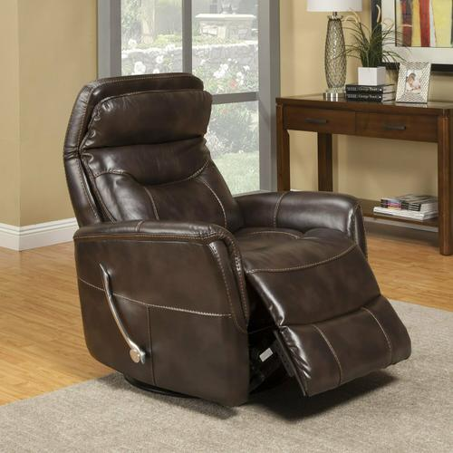 GEMINI - TRUFFLE Manual Swivel Glider Recliner
