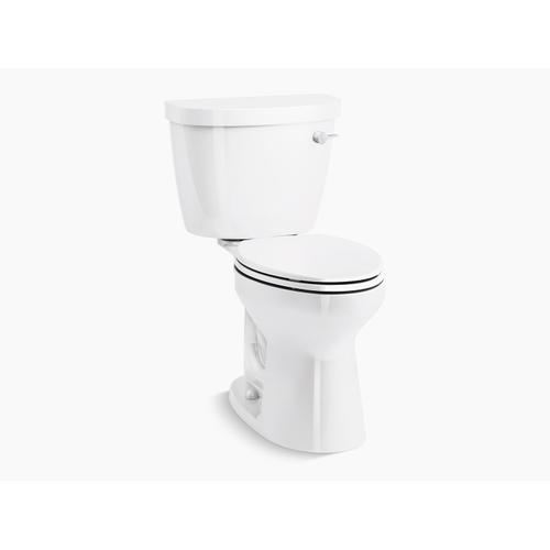 Kohler - Biscuit Two-piece Elongated 1.28 Gpf Chair Height Toilet