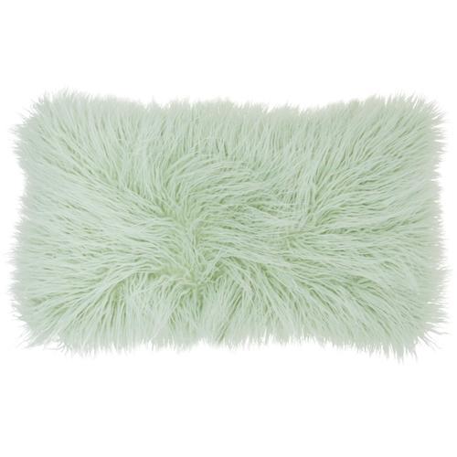 """Faux Fur Bj101 Spa 14"""" X 24"""" Lumbar Pillow"""