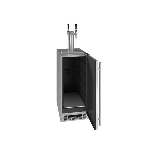 "15"" Nitro Infused Cold Coffee Dispenser With Stainless Solid Finish (115 V/60 Hz Volts /60 Hz Hz)"