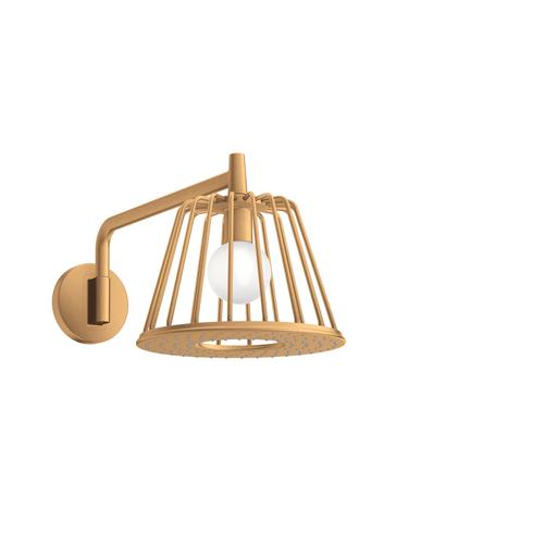 Brushed Gold Optic LampShower 275 1jet with shower arm