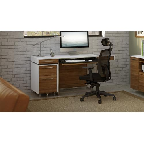 See Details - TC-223 Task Chair 223DHF Task Chair (Fabric) in Black