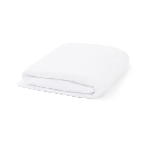 Malouf - Tencel Jersey 5-Sided Mattress Protector, cal king, White