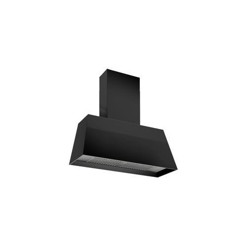 30'' Contemporary Canopy Hood, 1 motor 600 CFM Matt Black