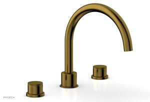 BASIC II Deck Tub Set 230-40 - French Brass Product Image