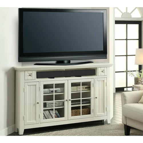 TIDEWATER 62 in. Corner Tall TV Console