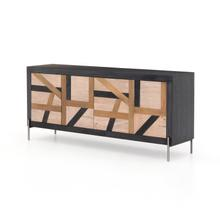 Kalu Sideboard-black Wash/white Wash