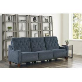 CHELSEA - WILLOW BLUE Power Sofa (811LP, 840, 811RP)