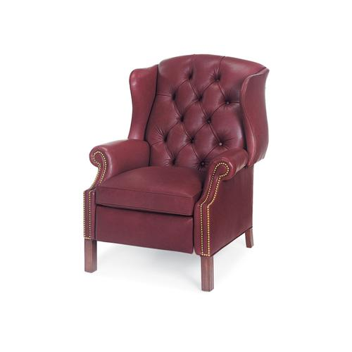 1011-PR BROWNING TUFTED WING CHAIR POWER RECLINER