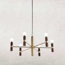 Ferguson Chandelier-walnut