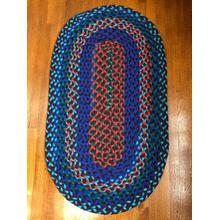 "Hometown Braided Rug Jewel Tone Braided Rugs 27"" x 48""(Actual size 27"" x 48"")"