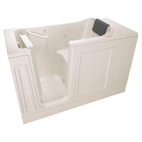 American Standard - Luxury Series 28x48-inch Whirlpool Walk-in Tub  Left Drain  American Standard - Linen
