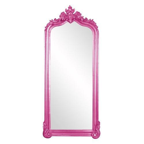 Howard Elliott - Tudor Mirror - Glossy Hot Pink