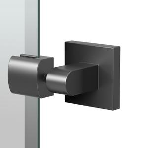 Elevate Rectangle Mirror in Matte Black Product Image