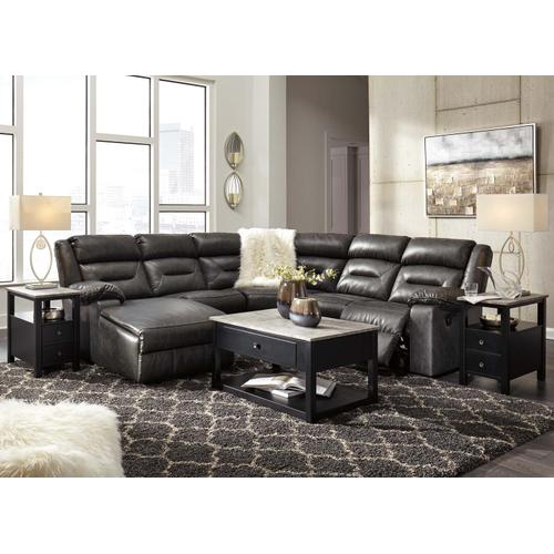 Coahoma 7-piece Reclining Sectional With Chaise and Power