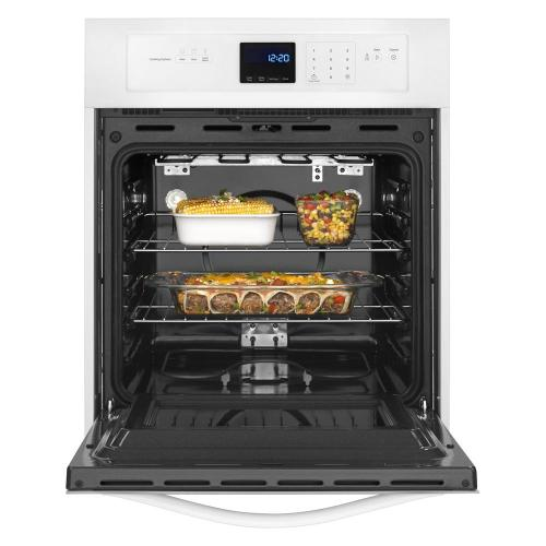 Whirlpool - 3.1 Cu. Ft. Single Wall Oven with AccuBake® System