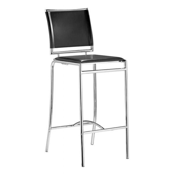 Soar Bar Chair Black