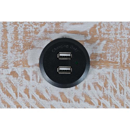 Jofran - North Coast 3 Drawer Accent Console - White Wash