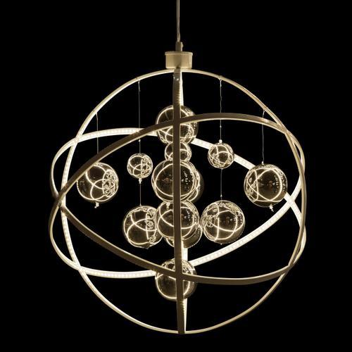 Amini - Planetary LED Chandelier Small