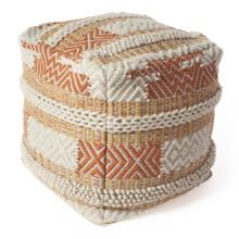 "Pouf F854 Sunset Oasis 18"" X 18"""