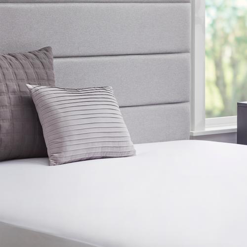 Malouf - Tencel Jersey Mattress Encasement, full, White