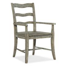 View Product - Alfresco La Riva Ladder Back Arm Chair - 2 per carton/price ea