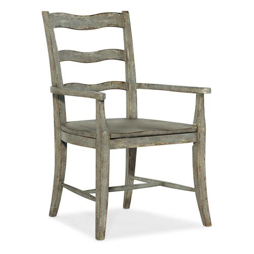 Hooker Furniture - Alfresco La Riva Ladder Back Arm Chair - 2 per carton/price ea