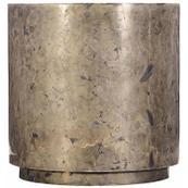 Pyrite Drum Table