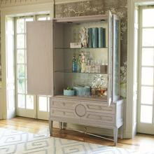 See Details - Collectors Cabinet Top-Grey-New Puck Light