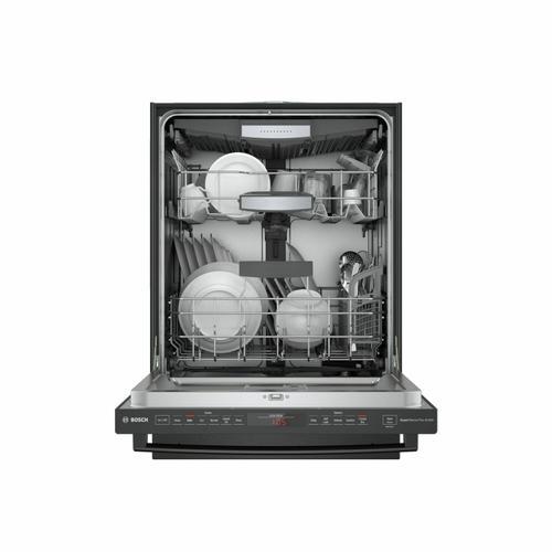 800 Series Dishwasher 24'' Black stainless steel, XXL SHXM78Z54N