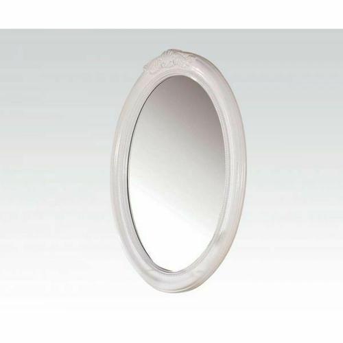 ACME Classique Oval Mirror - 30130 - White