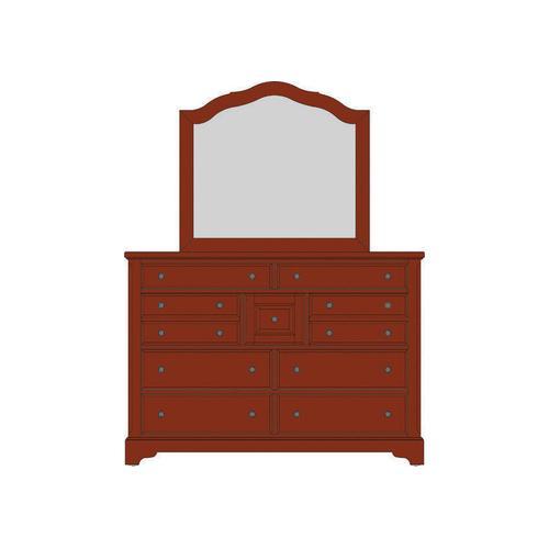 Villa Triple Dresser - 9 Drawers