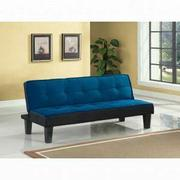 ACME Hamar Adjustable Sofa - 57031 - Blue Flannel Fabric Product Image