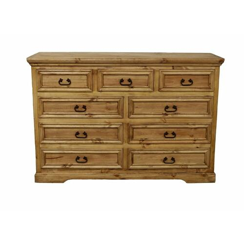 Million Dollar Rustic - 9 Drawer Oasis Dresser