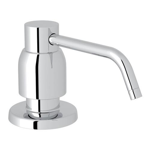 Polished Chrome Perrin & Rowe Holborn Deck Mount Soap Dispenser