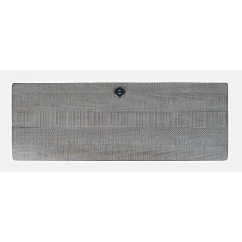 North Coast 3 Drawer Accent Console - Grey Wash