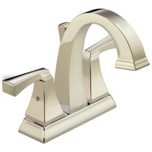 Polished Nickel Two Handle Centerset Bathroom Faucet