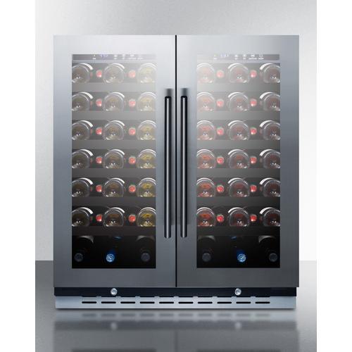 """Summit - 30"""" Wide Built-in Wine Cellar"""