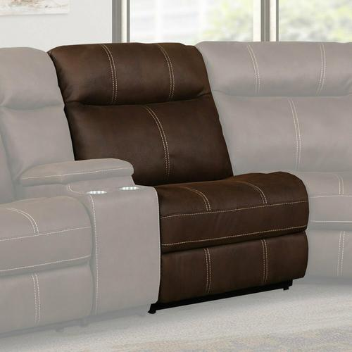 MASON - DARK KAHLUA Manual Armless Recliner