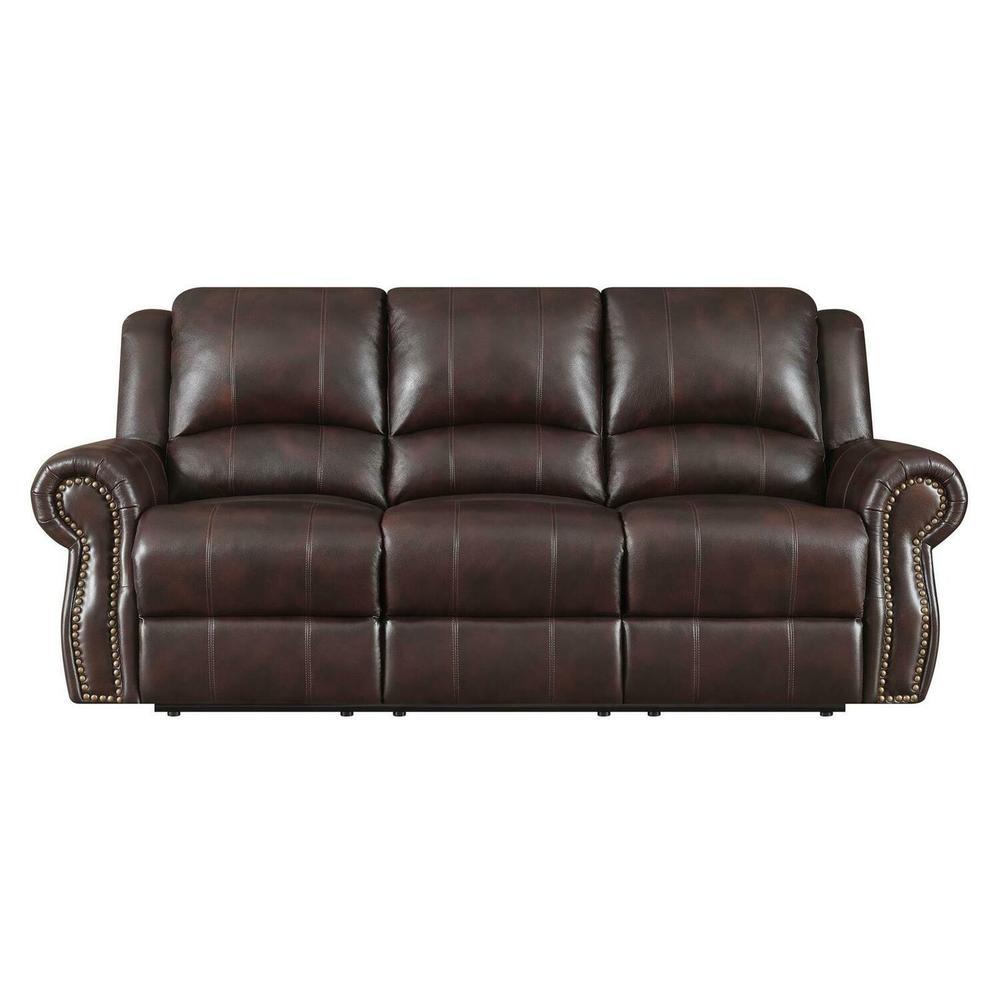 Product Image - Sir Rawlinson Traditional Burgundy Motion Sofa