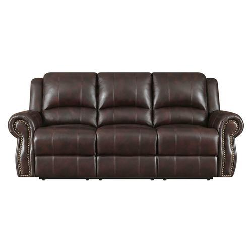 Sir Rawlinson Traditional Burgundy Motion Sofa