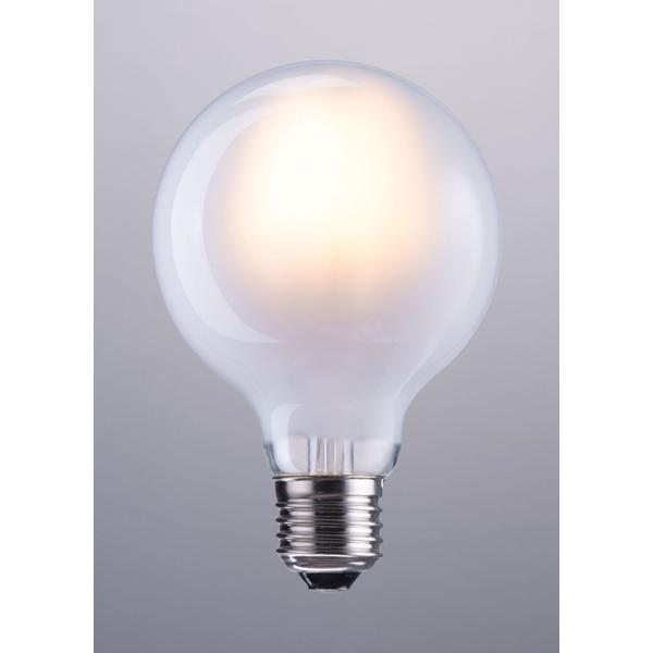 See Details - E26 G80 6w Led 110 X 80 Mm Frosted White
