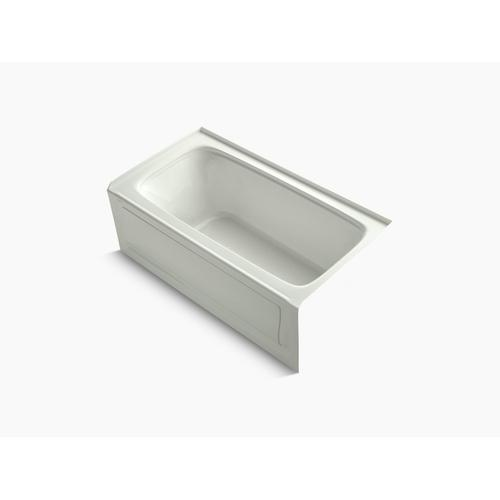 "Dune 60"" X 32"" Alcove Bath With Integral Apron, Integral Flange and Right-hand Drain"