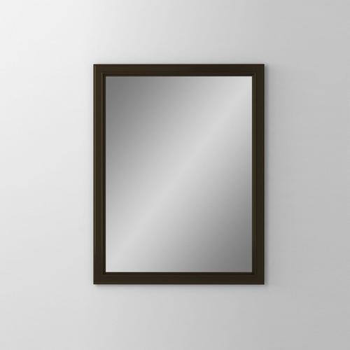 "Main Line 23-1/8"" X 29-7/8"" X 1-5/8"" Bryn Mawr Framed Mirror In Brushed Bronze"