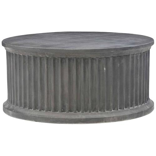 Canyon Ridge Round Cocktail Table in Basalt (397)