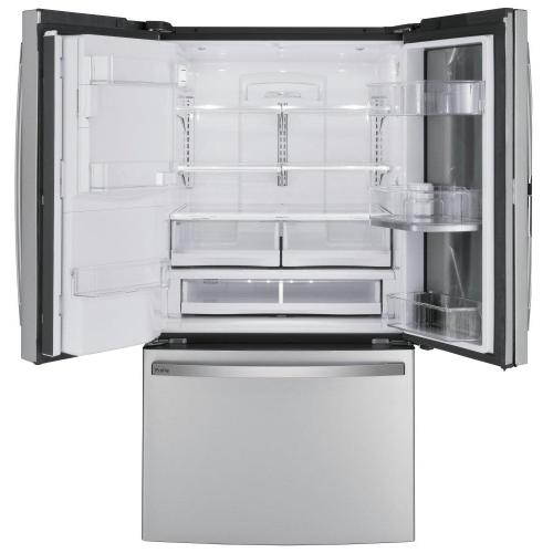 GE Profile™ Series 27.7 Cu. Ft. Fingerprint Resistant French-Door Refrigerator with Door In Door and Hands-Free AutoFill