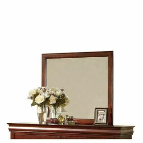 ACME Louis Philippe III Mirror - 19524 - Cherry